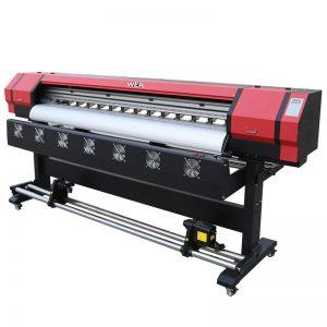 Impresión de 6 pés de vídeo WER-ES1901 DX5 / DX7 eco impresora solventes en Guangzhou Provedor