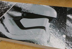 Cartelera impreso por impresora UV de gran formato WER-G2513UV