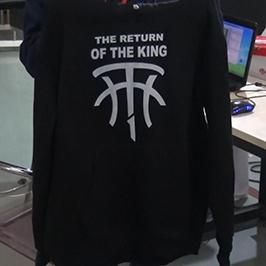 Impresora de impresión de suéter negro por impresora de camiseta A2 WER-D4880T