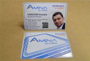 Muestra de tarxeta de nome de tarxeta de impresión da impresora de escritorio uv-Tamaño A2 WER-D4880UV