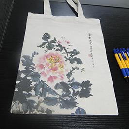 Impresión de bolso de lona impresora por impresora de camiseta A2 WER-D4880T