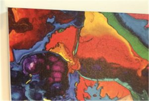 Mostra de impresión lona de WER-E2000UV
