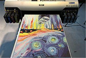 Mostra de lona da impresora UV A2 WER-EH4880UV