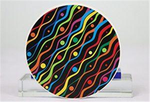 Mostras de impresión cerámica de cabeza de Rioch uv WER-G2513UV