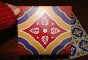 Mosaico de cerámica impreso en impresora A2 uv WER-D4880UV