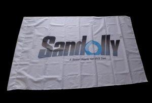 Bandera de folla Impreso por 1.6m (5 pés) eco impresora solvente WER-ES160