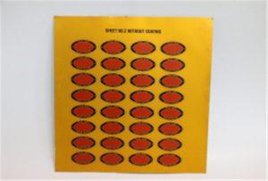 Impresión de mostra de metal en impresora UV A3 WER-E2000UV