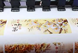 Adhesivo autoadhesivo printado por 1.8m (6 pés) eco impresora solvente WER-ES1802