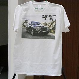 Camiseta de impresión de camiseta branca por impresora de camiseta A3 WER-E2000T 2