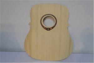 Mostra de guitarra de madeira da impresora UV de tamaño A2 WER-DD4290UV