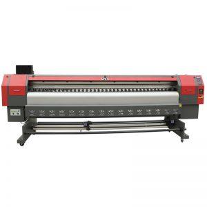 impresora solvente de alta velocidade 3.2m, máquina de impresión dixital flex impresora WER-ES3202